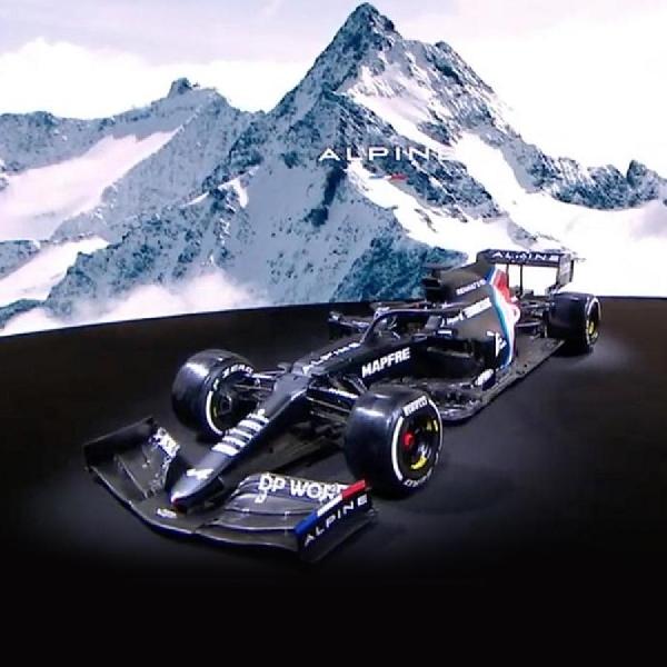F1: Alpine Ungkap Mobil Baru F1 Dengan Tag 'Renaulution'