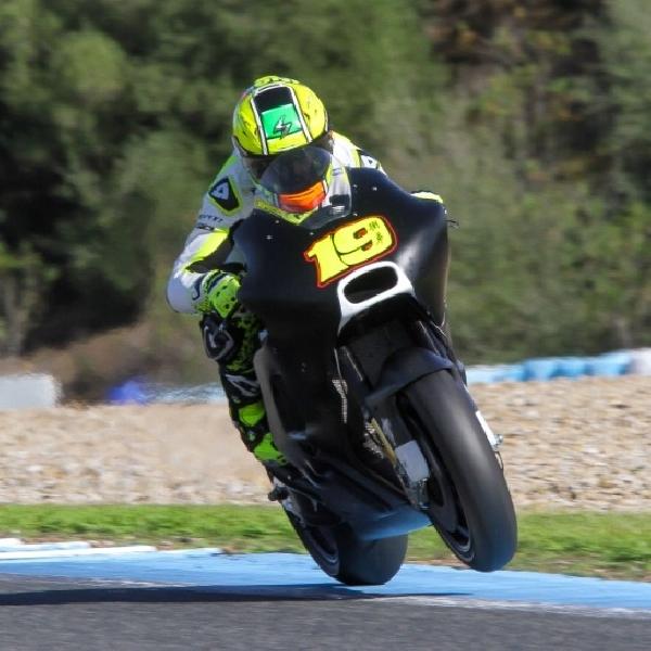Uji Coba MotoGP Alvaro Bautista Kalahkan Hector Barbera di Sirkuit Jerez