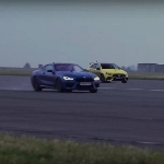 Balap Drag, AMG A45 S vs BMW M8 Competition, Siapa Juaranya?