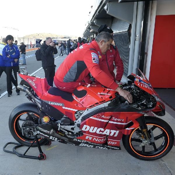 MotoGP: Dovizioso Berharap Sasis Baru Ducati Memberi Dampak Lebih Baik