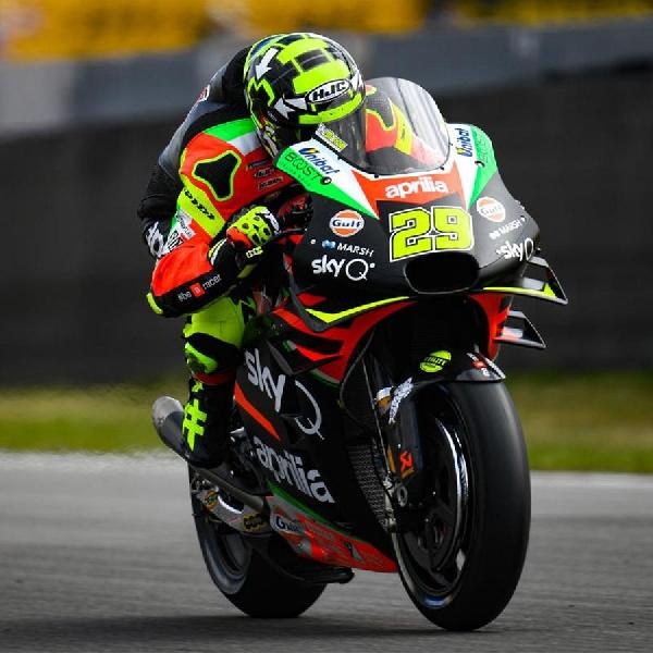 Andrea Iannone: Sachsenring akan Jadi Ujian Penting Bagi Aprilia
