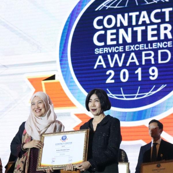 AHM Gondol 4 Penghargaan Kategori Layanan Terbaik