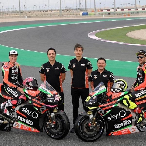 MotoGP: Aprilia Ajukan Pembebasan Pembekuan Mesin Untuk Musim 2020