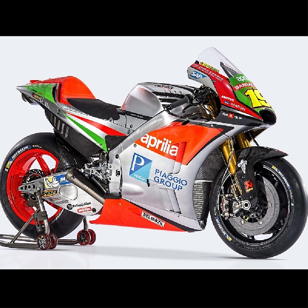 MotoGP: Aprilia Bakal Gunakan Sasis dan Girboks