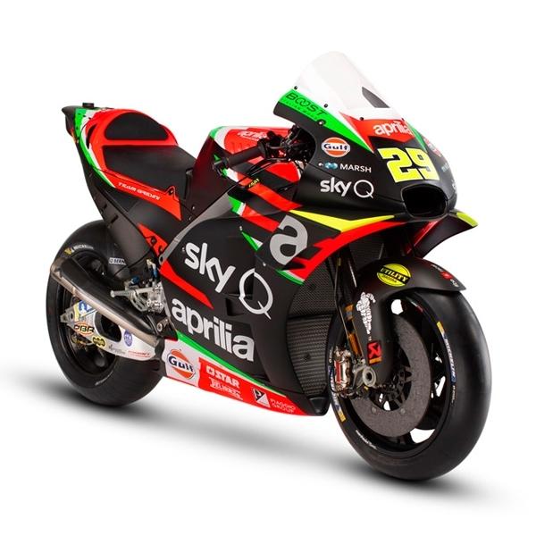 Aprilia Ungkapkan Motor Baru Untuk MotoGP 2019