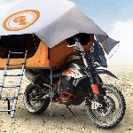 Inovasi Tenda Baru Untuk Para Adventure Motorcycle