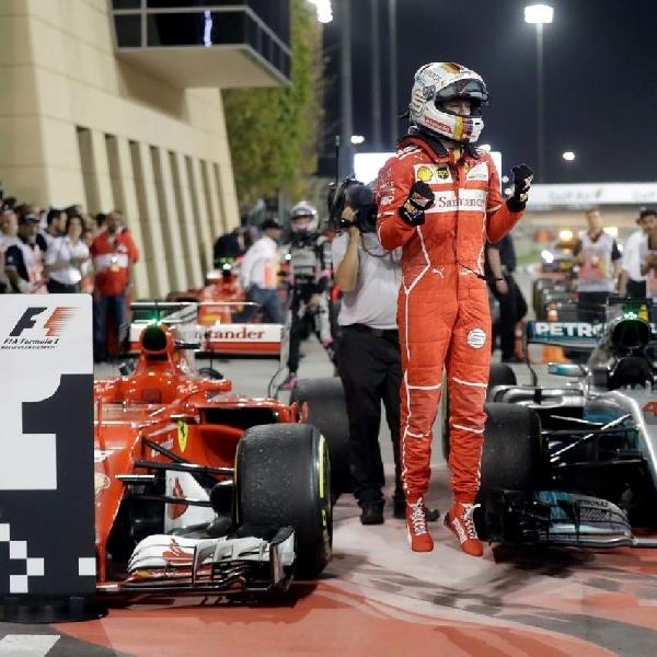 F1: Ferrari Kembali Raih Tahta Tertinggi di Bahrain