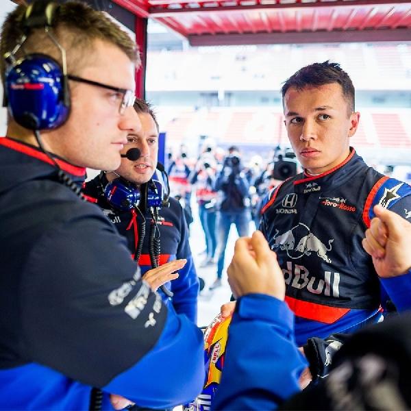 Alex Albon Nilai Positif Pencapaian Toro Rosso di GP Monaco