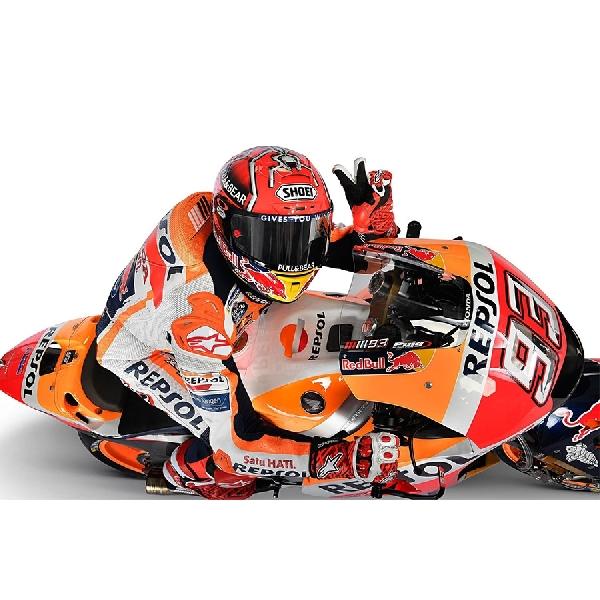 Marc Marquez Puji Peningkatan Motor Honda di MotoGP