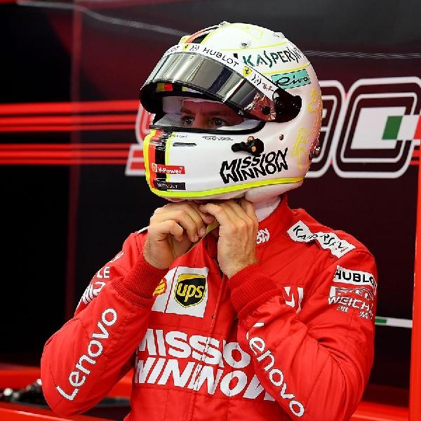 Vettel Mengakui Tidak Dalam Kondisi Baik