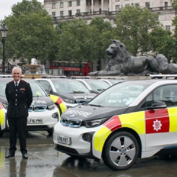 Armada Pemadam Kebakaran di London Menggunakan Mobil Listrik
