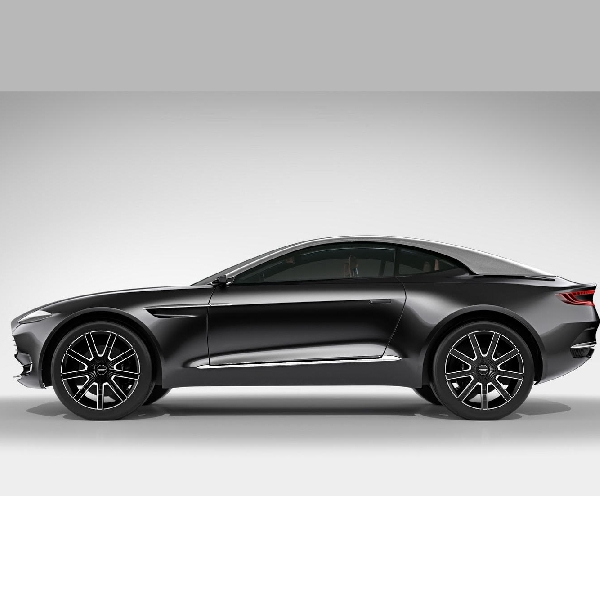 Aston Martin akan perkuat pasar dengan DBX Crossover