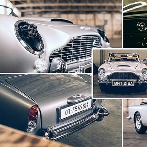 Aston Martin DB5 Junior Edisi 'No Time To Die' Diluncurkan, Berapa Harganya?
