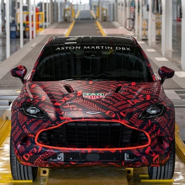Aston Martin Resmikan Pabrik SUV