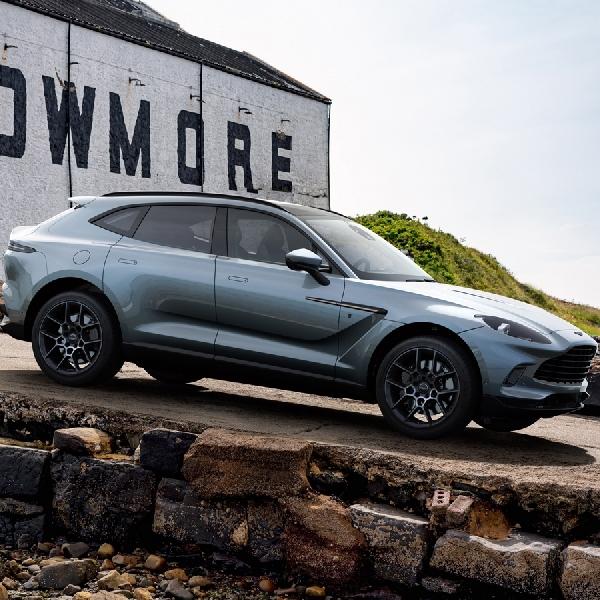 Aston Martin Luncurkan Spesifikasi DBX Bowmore Edition, Terbatas Hanya 18 Unit