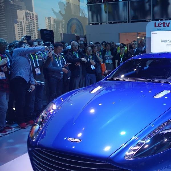 Aston Martin Pamer Teknologi Rapied S di CES 2016