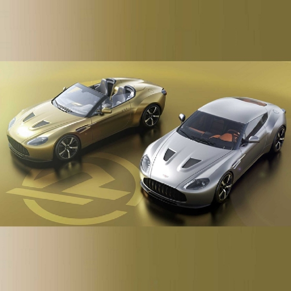 Aston Martin Merilis Vantage V12 Zagato Heritage Twins