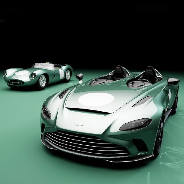 Aston Martin V12 Speedster DBR1 Hadir Dengan Wajah Vintage Exclusivity