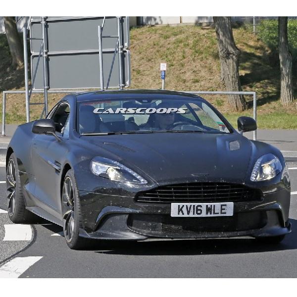 Aston Martin uji Vanquish S edisi terakhir