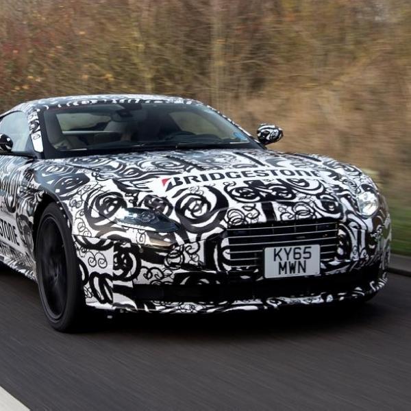 Penampakan Aston Martin DB11