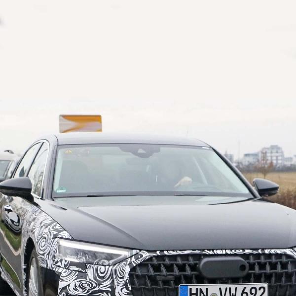 Audi A8 Facelift 2022 Punya Lampu Depan dan Grille Yang Dirancang Ulang?