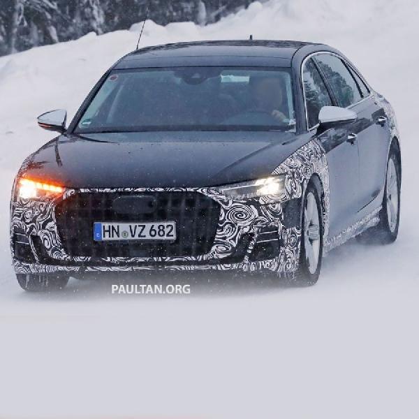 Spyshoot: Audi A8 Horch Pesaing Kuat Mercedes Maybach