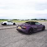 Balapan, Lamborghini Huracan LP610-4 Kalahkan Audi R8 Spyder