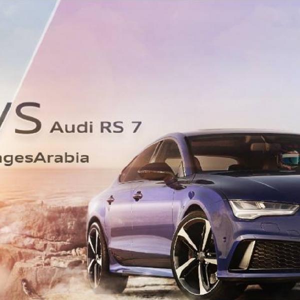 Audi RS 7 Lawan Lift Tercepat di Dunia, Siapa Lebih Dulu Sampai Finish