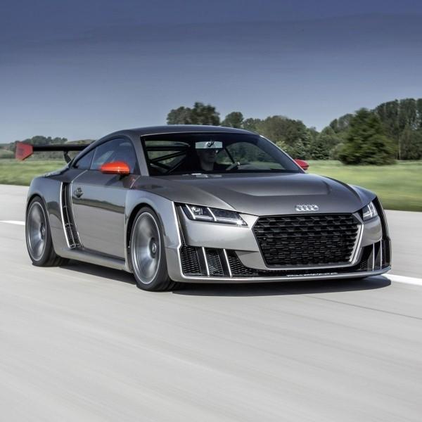 Audi TT Direncanakan Masuk Tahap Produksi Tahun 2018