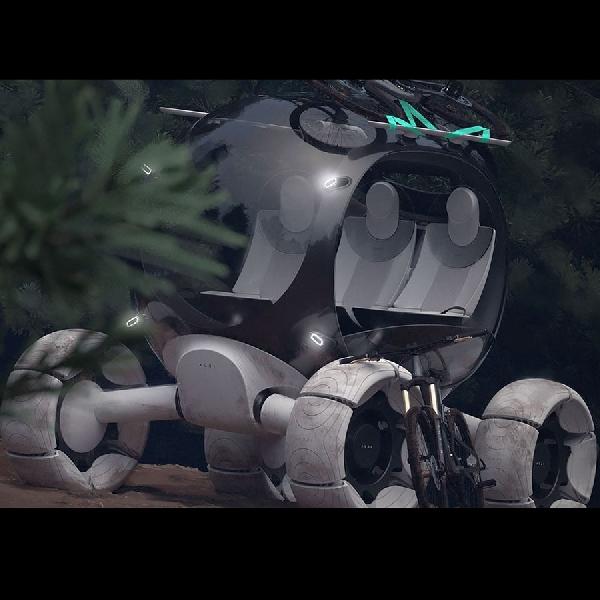 Ketika Petualangan Darat dan Air  Menyatu Dalam Audi X Concept