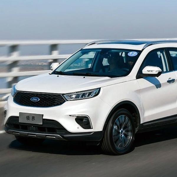 Ford Territory Meluncur di Cina