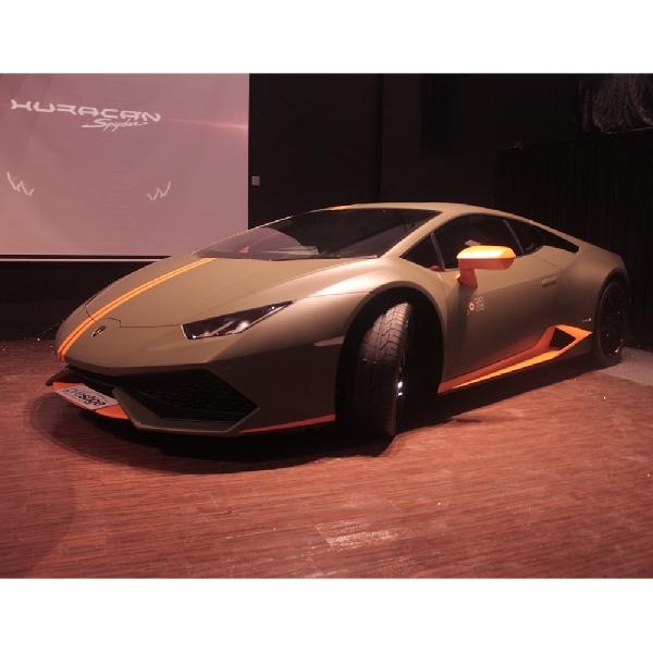 Varian Eksklusif Lamborghini Huracan Hadir di Indonesia