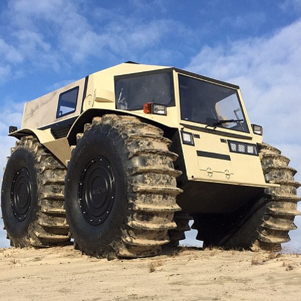 ATV Sherp Monster Off-Road dari Siberia
