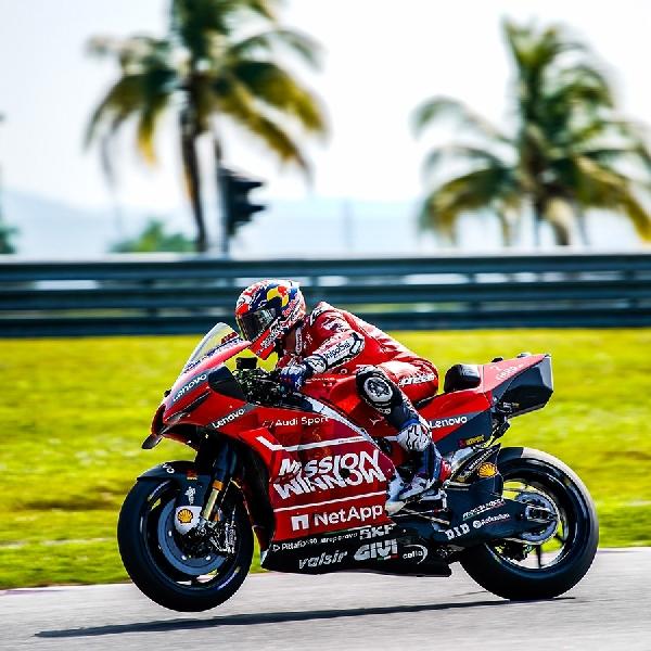 MotoGP: Rossi Menilai Kecepatan Kualifikasi Ducati Luar Biasa