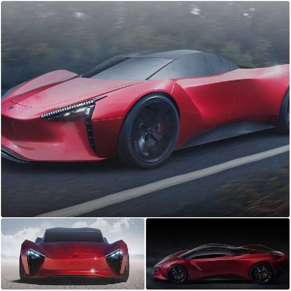 Mean Metal Motors Azani, Hypercar Listrik India 1.000 Hp