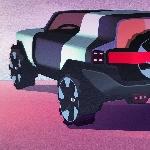 Quick Rendering Baby Jeep Wrangler Tampak Seperti Off-Roader Mungil
