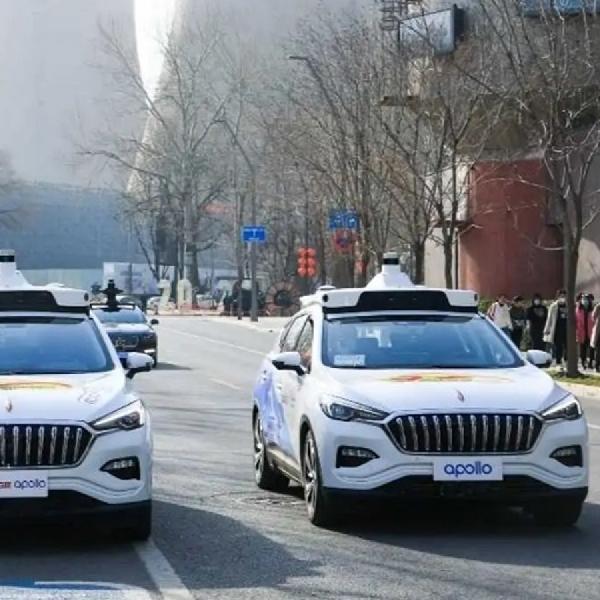 Baidu Luncurkan Taksi Tanpa Pengemudi Pertama di Beijing