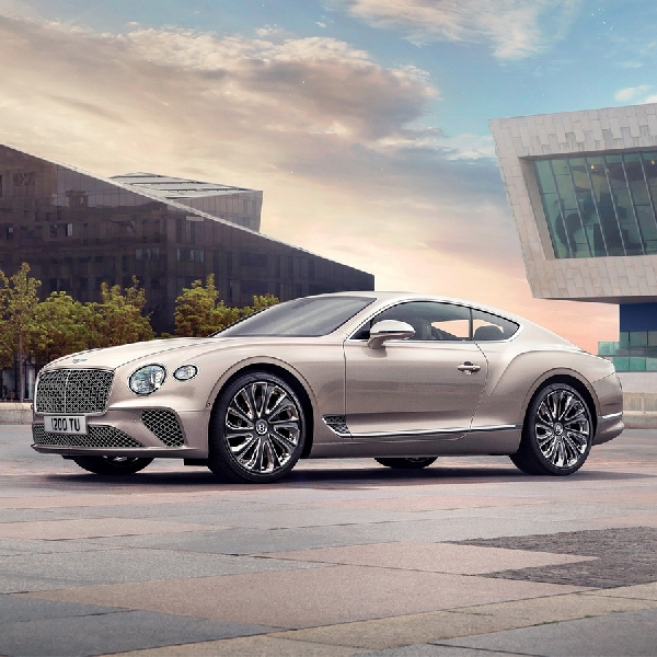 Pinnacle Mewah Terbaru Bernama Bentley Continental GT Mulliner 2021