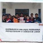 Pertamina Lubricants Ajak Distributor Salurkan Bantuan Korban Banjir Lebak Banten