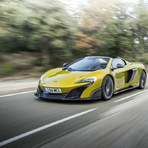 Kurang Dari Sebulan 500 Unit McLaren 675LT Spider Ludes Terjual