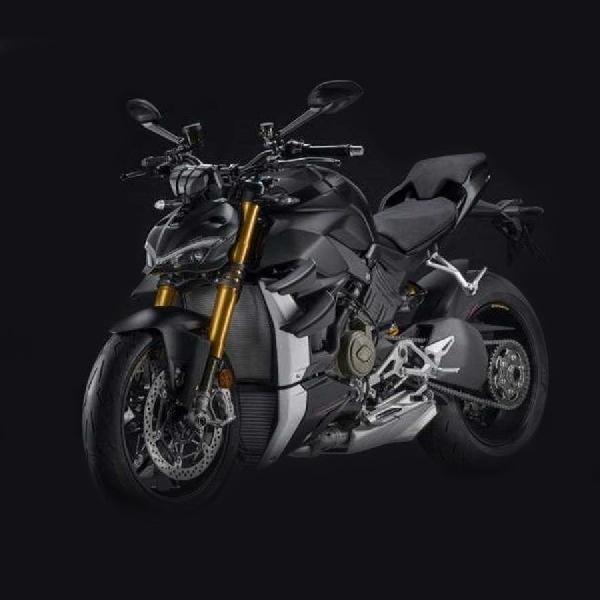 Begini Elegannya Ducati Streetfighter V4 S Dark Stealth