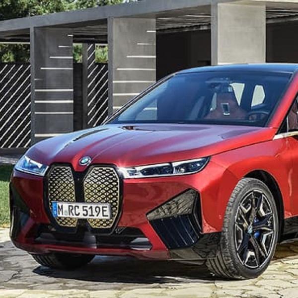 Begini Penampakan Perdana BMW iX