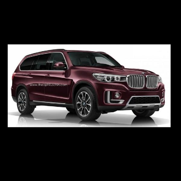 Beginikah Sosok BMW X7 Tujuh Penumpang?