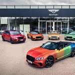 Tampilan Baru Bentley Continental GT Convertible yang Penuh Warna