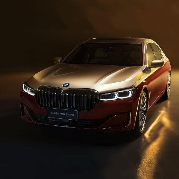 BMW 7 Series Two-Tone Special Edition Muncul di Auto Shanghai 2021