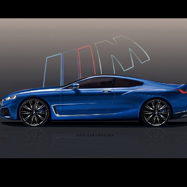 BMW 8 Series Digital Render