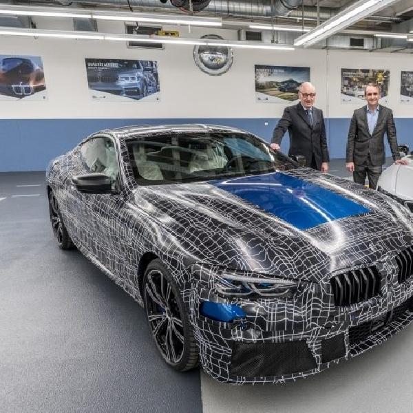 BMW AKan Rilis Dua Model Terbaru Seri 8