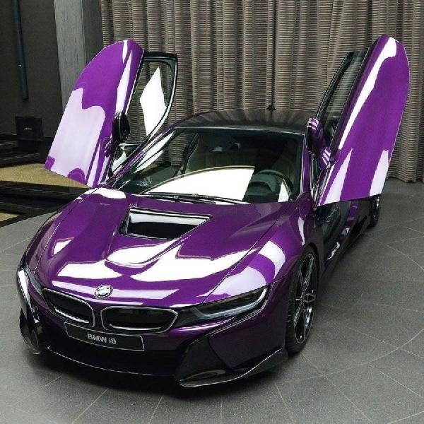 BMW i8 Twilight Purple AC Schnitzer
