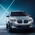 Foto BMW iX3 Bocor, Tanpa Kamuflase Sedikit Pun
