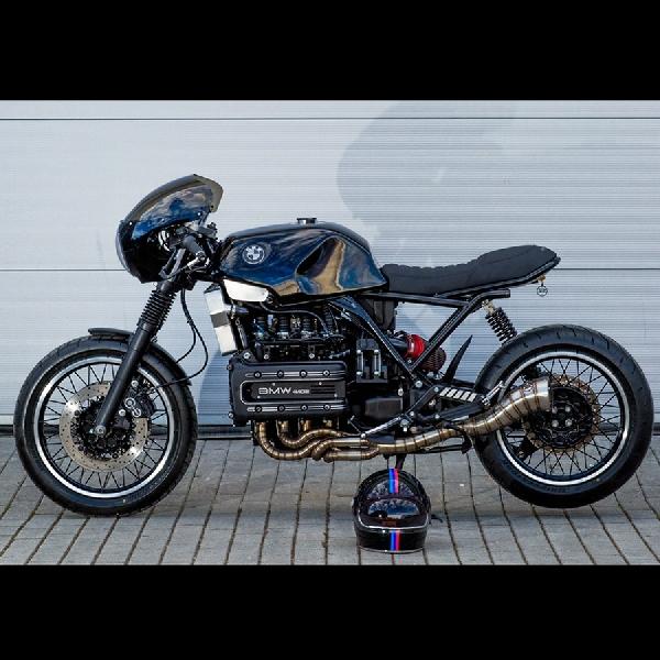 Kompact Racer, Modifikasi BMW K1100 RS Karya Giorgio de Angelis